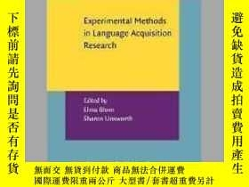 二手書博民逛書店Experimental罕見Methods in Language Acquisition ResearchY