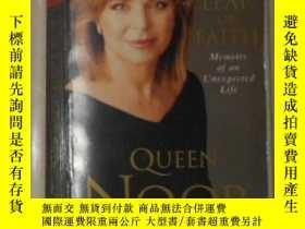 二手書博民逛書店英文原版罕見Leap of Faith by Queen Noo