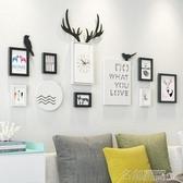 掛鐘 歐式客廳掛鐘家用大氣個性壁鐘現代簡約餐廳臥室創意墻面裝飾鐘錶 名創家居館 DF