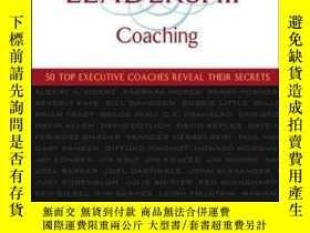 二手書博民逛書店The罕見Art and Practice of Leadership Coaching: 50 Top Exec