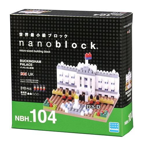 《 Nano Block 迷你積木》【世界主題建築系列】NBC-104 白金漢宮 / JOYBUS玩具百貨