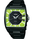 WIRED Solar日雜時尚手錶(V145-X014M)-綠