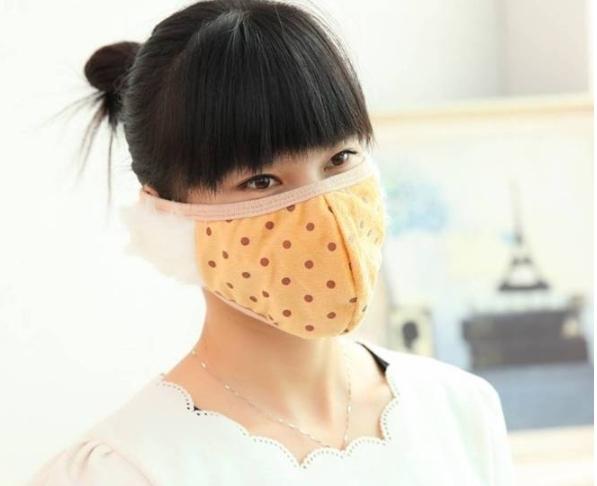 護耳口罩 保暖口罩 寒流 滑雪 女冬時尚 可愛保暖 個性二合一口罩耳罩【L034】MY COLOR