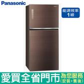 (1級能效)Panasonic國際650L雙門變頻冰箱NR-B659TG-T含配送到府+標準安裝【愛買】