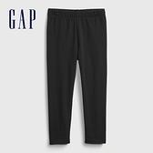 Gap女幼童 布萊納系列 基本款純色針織褲 760343-黑色