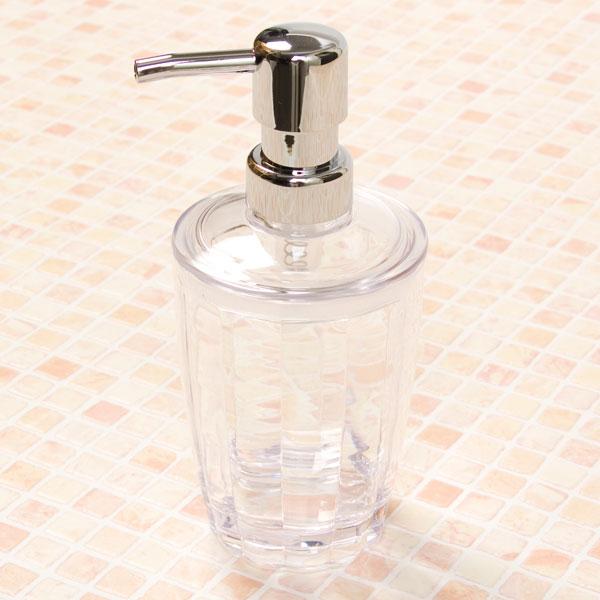 壓瓶 沐浴乳分裝瓶 FLEURI 300 CL NITORI宜得利家居