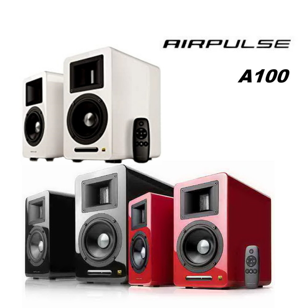 EDIFIER 漫步者 AIRPULSE A100 2.0 聲道 兩件式 藍牙喇叭音響 黑/白/紅 3色可選 全新品公司貨保固