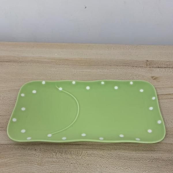創意陶瓷餐盤長方魚盤家用菜盤(30*16公分/777-1603)