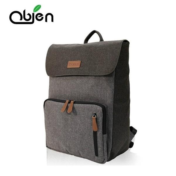 【OBIEN】MASTER 都會型防潑水萬用後背包 可放15.6吋筆電 (商務包/筆電包/名牌包)