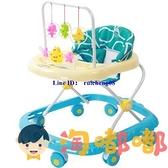 嬰兒學步車防側翻多功能嬰兒滑行車男女孩可折疊【淘嘟嘟】