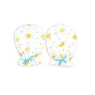 佳美 蛋黃哥滿版印花嬰兒手套2入( G6205) 90元