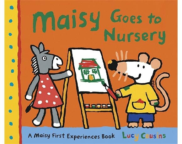 Maisy Goes To Nursery 波波上學記!故事小書
