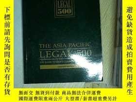 二手書博民逛書店THE罕見ASIA PACIFIC LEGAL 500 2004
