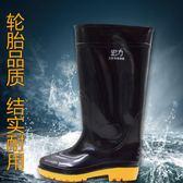 水鞋雨鞋男士女士中筒雨靴春夏季防水防滑高筒水靴牛筋底釣魚水鞋 【好康八五折】