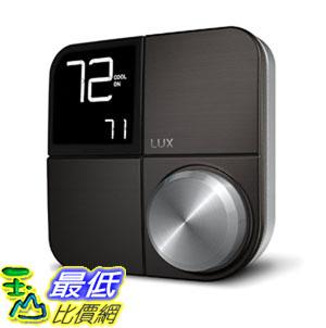 [107美國直購] 溫控器 Kono KN-S-AMZ-004 Smart Thermostat, Black