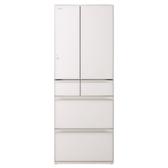 日立607公升六門-琉璃(與RHW610JJ同款)冰箱XW琉璃白RHW610JJXW