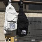 韓國ins原宿風日系街頭復古工裝斜跨包帆布包胸包腰包學生男女潮 享購