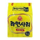 韓國不倒翁拉麵(純麵條) 110G x5...