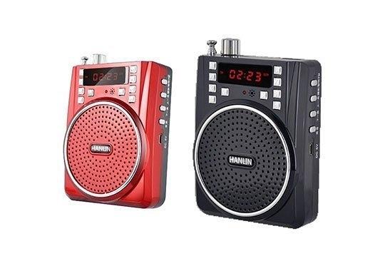 攜帶喇叭 音箱 HANLIN-M53 長效擴音機-MP3插卡USB錄音FM 教學/導遊/大聲公 (麥克風) sony
