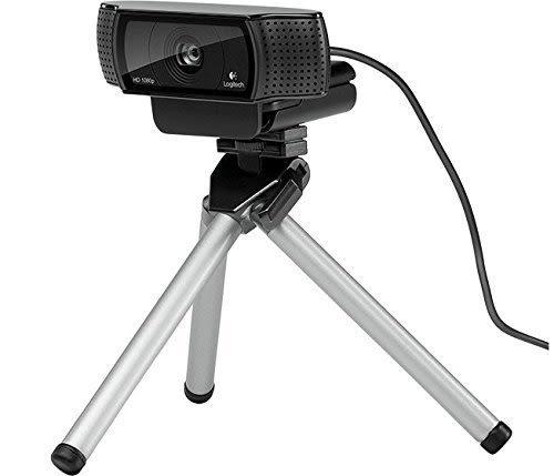 Logitech 羅技 C920 HD Pro 網路攝影機 蔡司鏡頭 自動對焦 高畫值 1080p 直播主首選