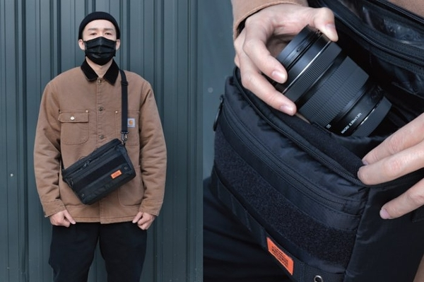 MATCHWOOD - TFO Camera Bag 一機兩鏡斜背單眼相機包 附防撞內膽-2色