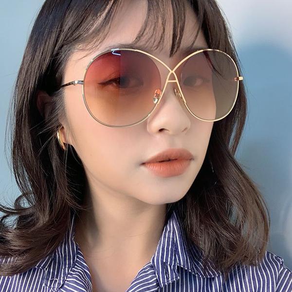 SPEKTRE 太陽眼鏡 INFINITY (金) 圓框 漸層粉 墨鏡 久必大眼鏡