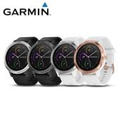 [富廉網] 限時促銷【GARMIN】vivoactive 3 iPass 行動支付心率智慧腕錶 律動白