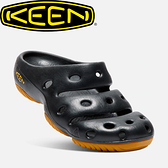 【KEEN 美國 男款 護趾拖鞋《黑》】1001966/橡膠鞋/涼鞋/休閒涼鞋
