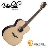 Veelah 吉他 V8-OM 全單板 民謠吉他 附Veelah木吉他硬盒 OM桶身 台灣公司貨 Veelah V8OM 木吉他