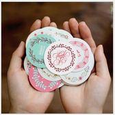 [拉拉百貨]小清新 貼紙 38枚入 包裝貼 手帳貼 裝飾 盒裝貼紙