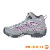 MERRELL MOAB 2 GORE-TEX 中筒多功能防水登山健行鞋 淺灰X紫 ML06068 女鞋