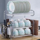 廚房置物架用品餐具收納盒盤子碗收納架刀架碗櫃碗碟瀝水碗架廚房小明同學