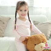 Anny pepe 女童舒暖棉長袖 白色/粉色 (90~150cm)