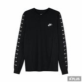NIKE 男 AS M NSW LS TEE HBR SWOOSH 2  圓領T(長)- AR5057010