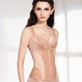 思薇爾-綺麗曲線系列中機能防駝背心半身束衣(杏膚色)