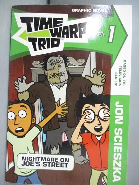 【書寶二手書T1/少年童書_GJD】Time Warp Trio 1: Nightmare on Joe's Street_Scieszka