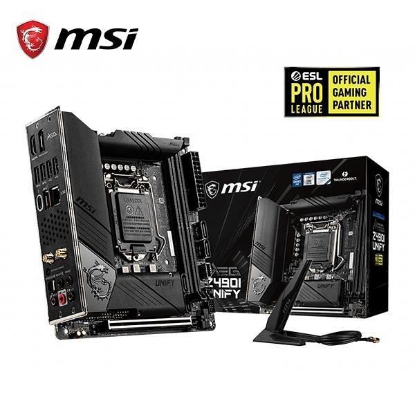 微星MSI MEG Z490I UNIFY Intel 主機板