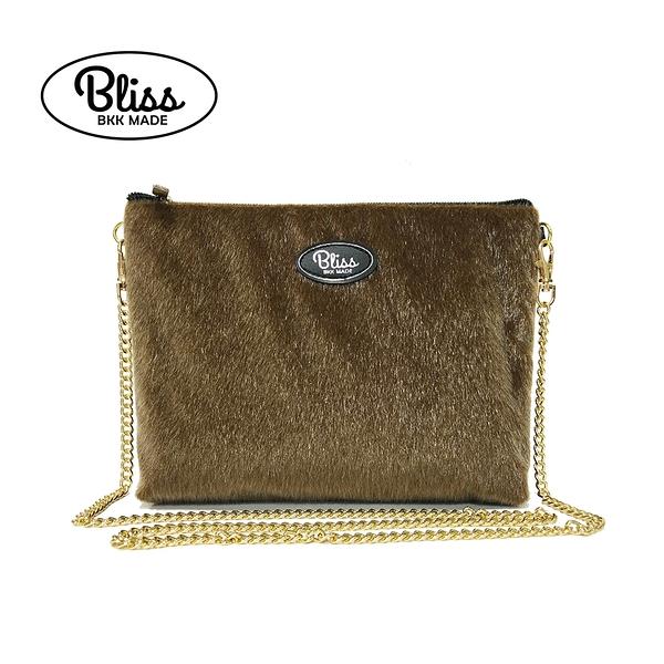 【正版授權】泰國Bliss BKK包 毛毛淺棕 4款背帶可選 現貨供應中