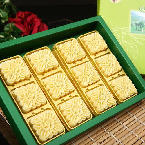 烘焙雅集.晶典綠豆皇 (12入/盒,共20盒)﹍愛食網