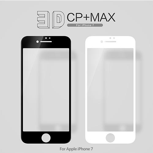 摩比小兔~ NILLKIN Apple iPhone 7 3D CP+ MAX 滿版玻璃貼 防爆 鋼化 滿版