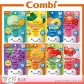 ~嬰之房~康貝Combi teteo 無糖口嚼錠60 粒草莓葡萄橘子蘋果哈密瓜香蕉鳳梨草莓牛奶