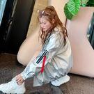 風衣 2019春秋新款韓版寬鬆皮衣外套女短款機車小pu皮夾克bf學生大碼潮