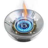 瓦斯節能罩 鑄鐵瓦斯灶防風罩節能圈擋風家用燃氣灶省氣聚火 晶彩 99免運