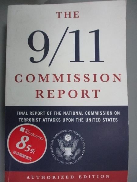 【書寶二手書T8/社會_LEO】9/11 Commission Report: Final Report of the…