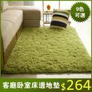 地毯 加厚可水洗絲毛客廳臥室茶幾地毯飄窗床邊地墊滿鋪地毯