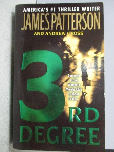 【書寶二手書T8/原文小說_MIN】3rd Degree_James Patterson