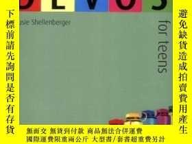 二手書博民逛書店The罕見One Year Devos for TeensY19