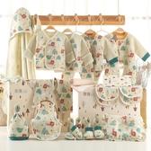 嬰兒衣服純棉新生兒禮盒套裝秋冬季剛初出生0-3個月寶寶滿月用品 童趣潮品