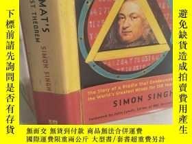 二手書博民逛書店Fermat s罕見Last Theorem 《費馬大定理》 【