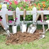 朗祺家用小鏟子種植園藝工具加厚刻度鏟土釘耙